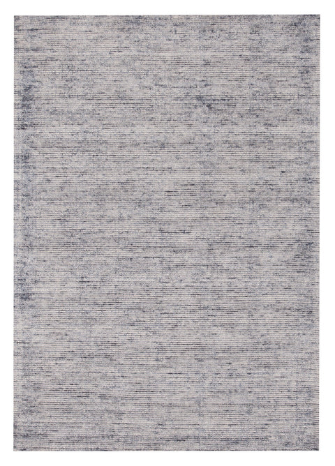 Sontra Blue & White Hand Loomed Cotton Rug