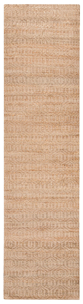 Stevie Tribal Natural Jute Runner Rug