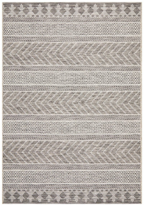 Tetela Grey Tribal Rug