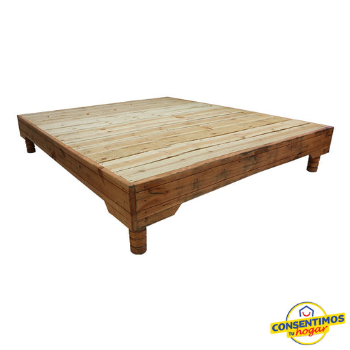 Base  Ecco Queen Size Maple - gruporoga