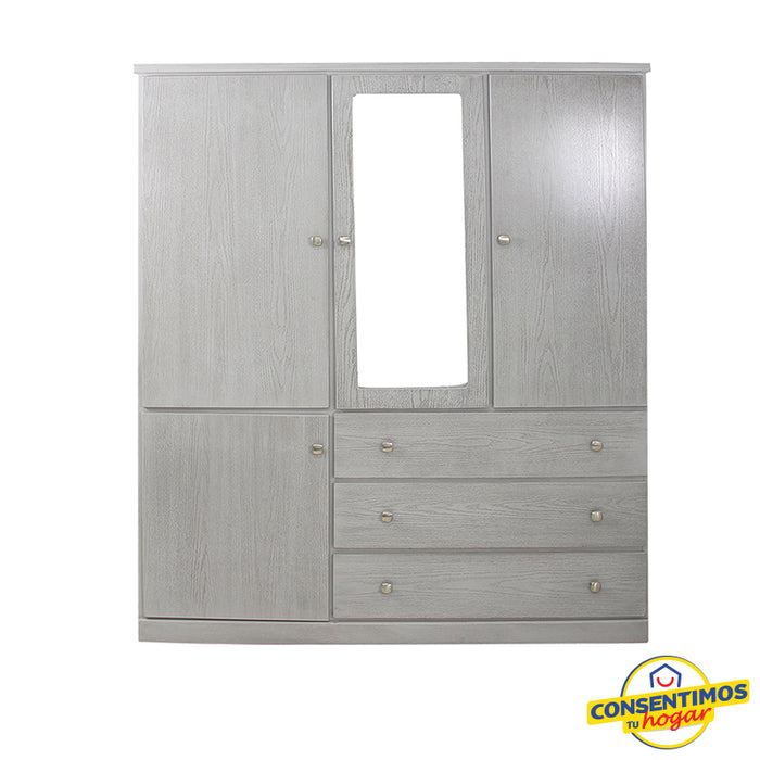 Closet  Atlas 1.80 mts Gris  Contemporáneo - gruporoga