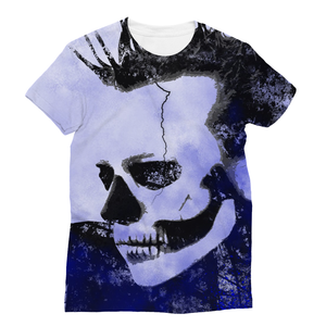 Tomorrow Never Comes (Blue Skull) - T-Shirt