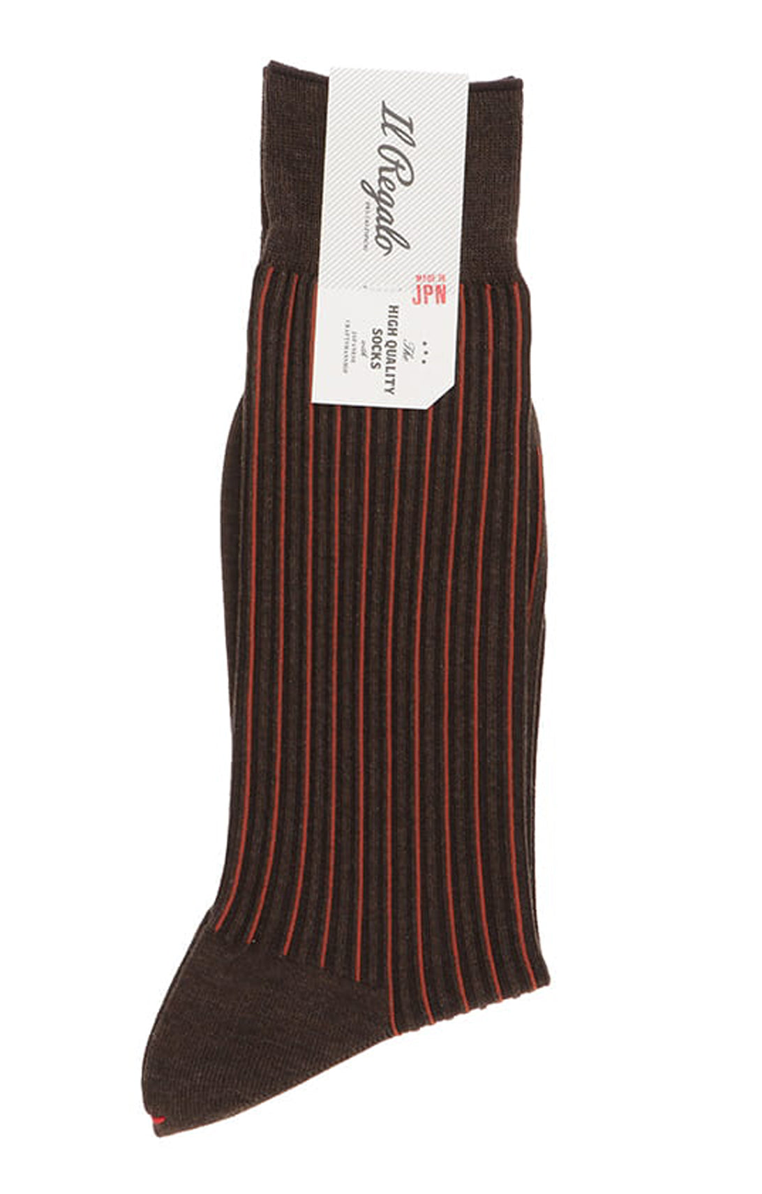 Pin Stripes Mid-Calf Socks