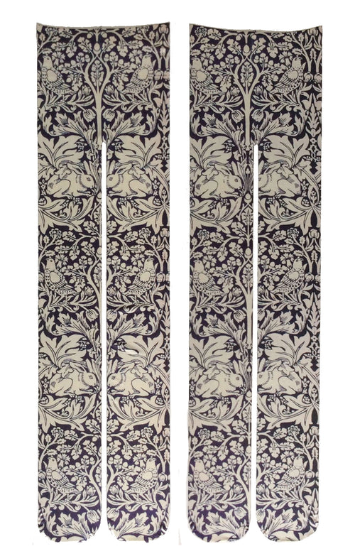 WILLIAM MORRIS l BRE'R BROTHER RABBIT PRINTED TIGHTS
