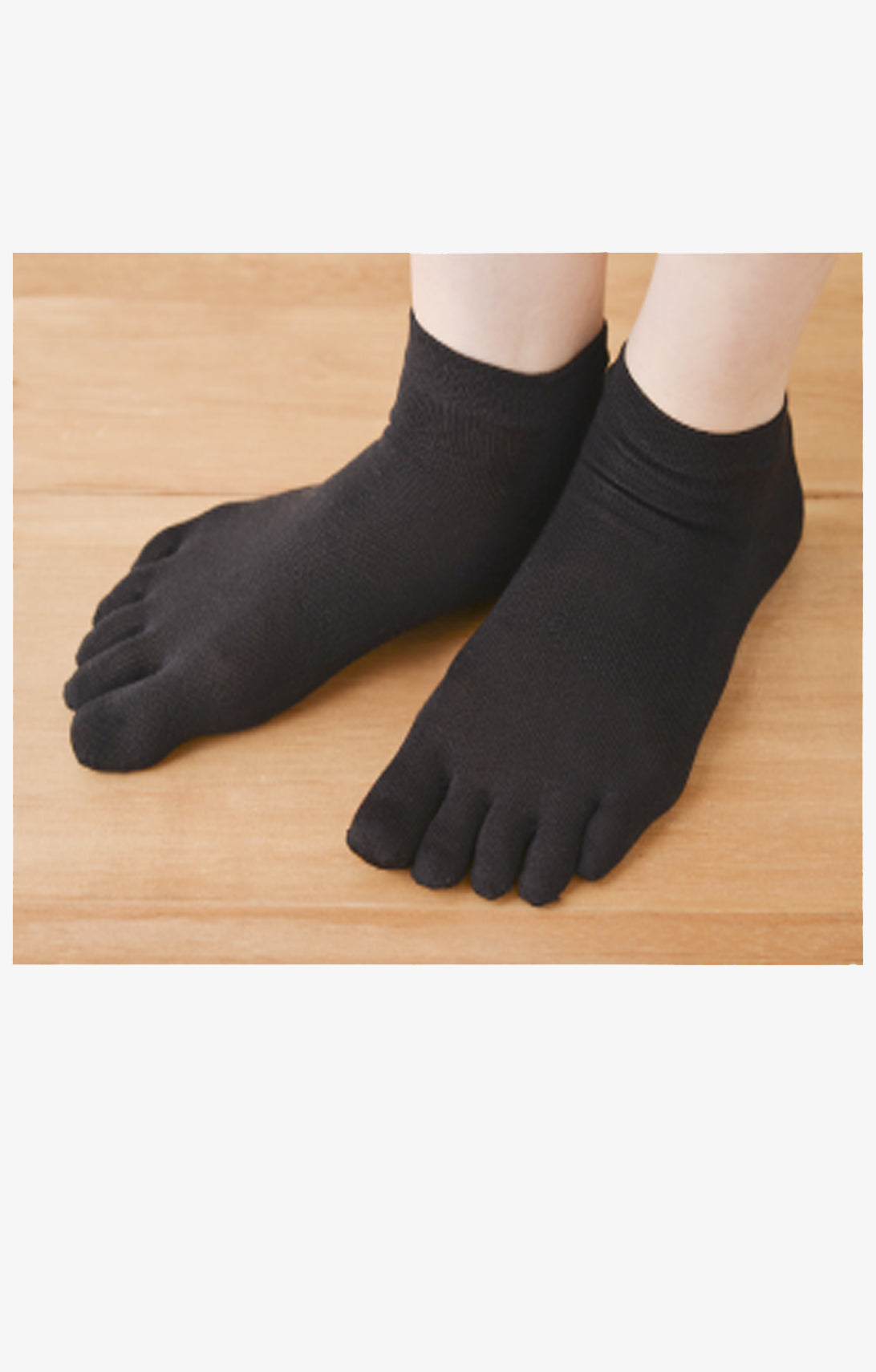 SILK TOE FOOTIE SOCKS