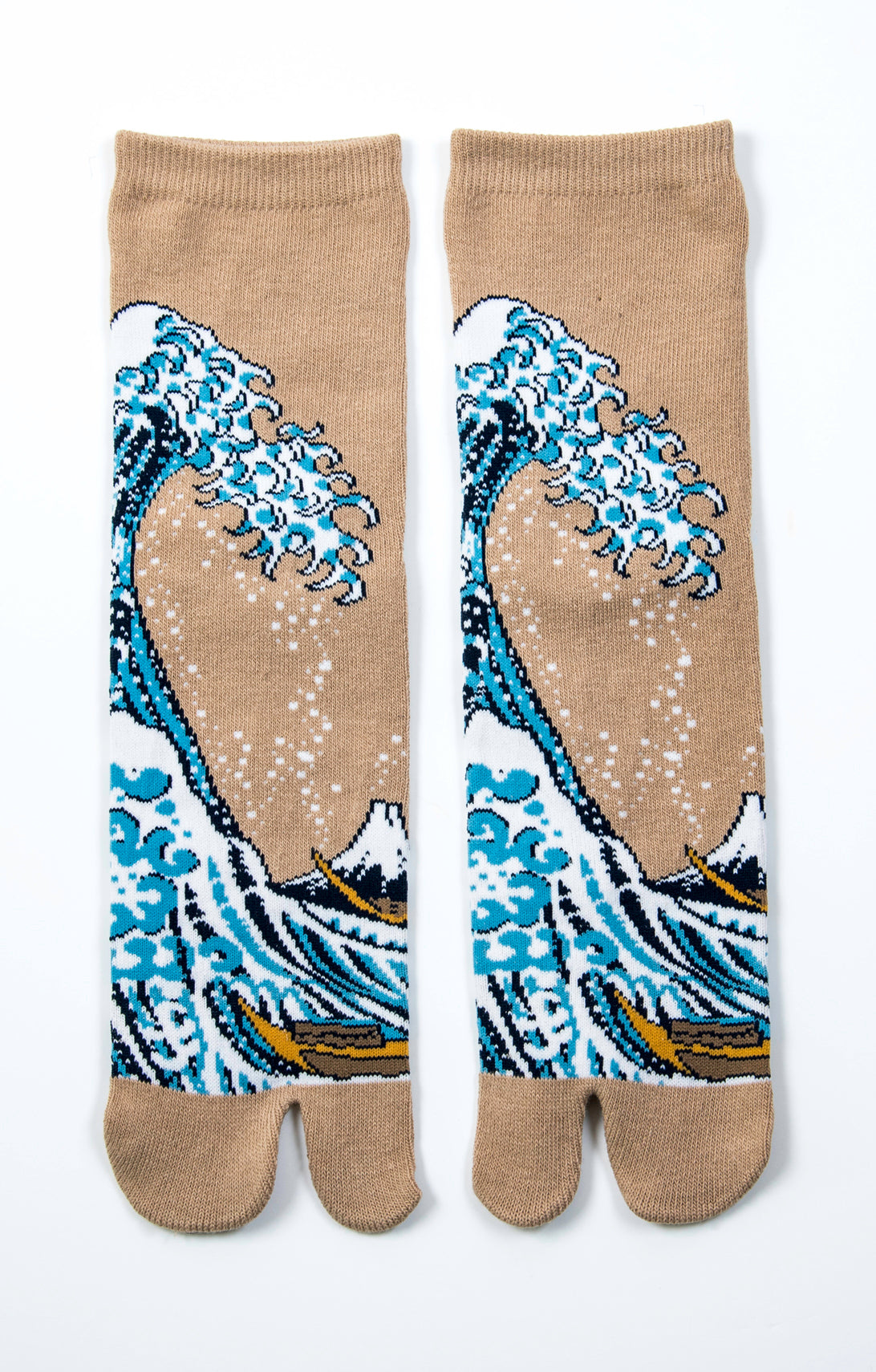 HOKUSAI l THE GREAT WAVE TABI SOCKS