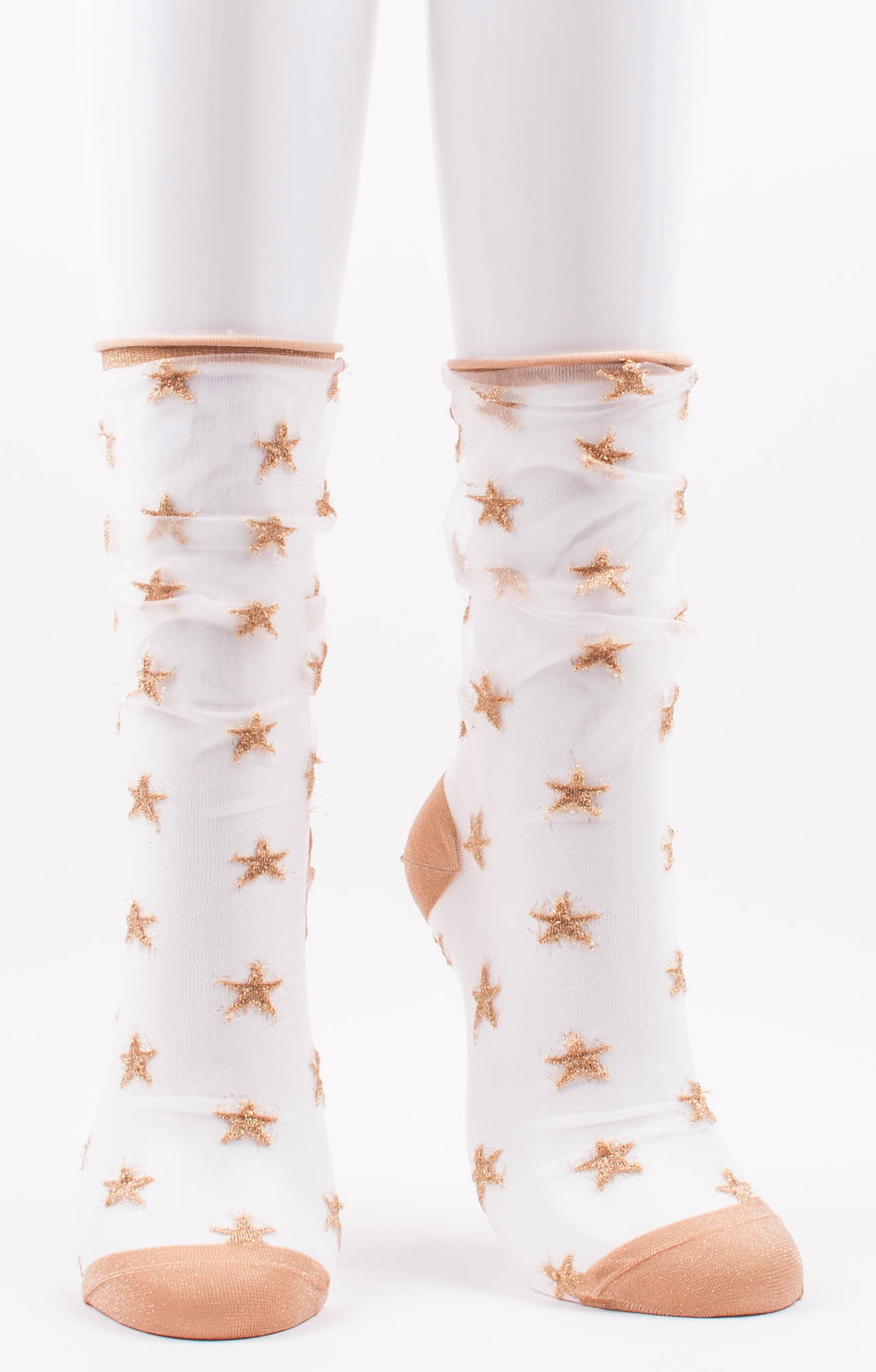 Sparkle STAR SHEER SOCKS