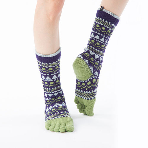 WOOL BLEND FOREST TEXTILE MIDCALF