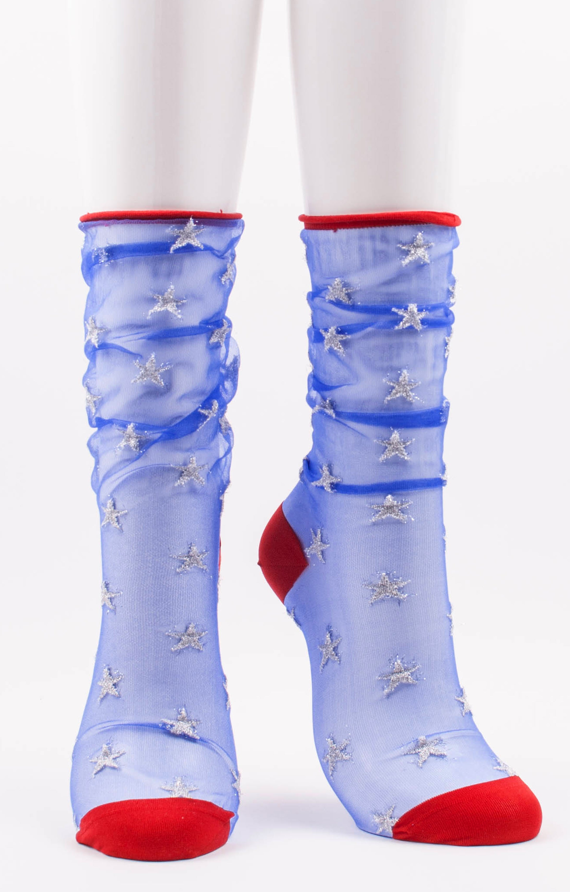 July 4th socks l America Sheer Socks l Made in Japan