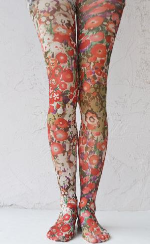 BOUQUET BEAUTY PRINTED TIGHTS