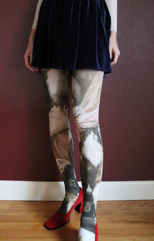 MY WIFE'S LOVERS BY CARL KAHLER PRINTED TIGHTS