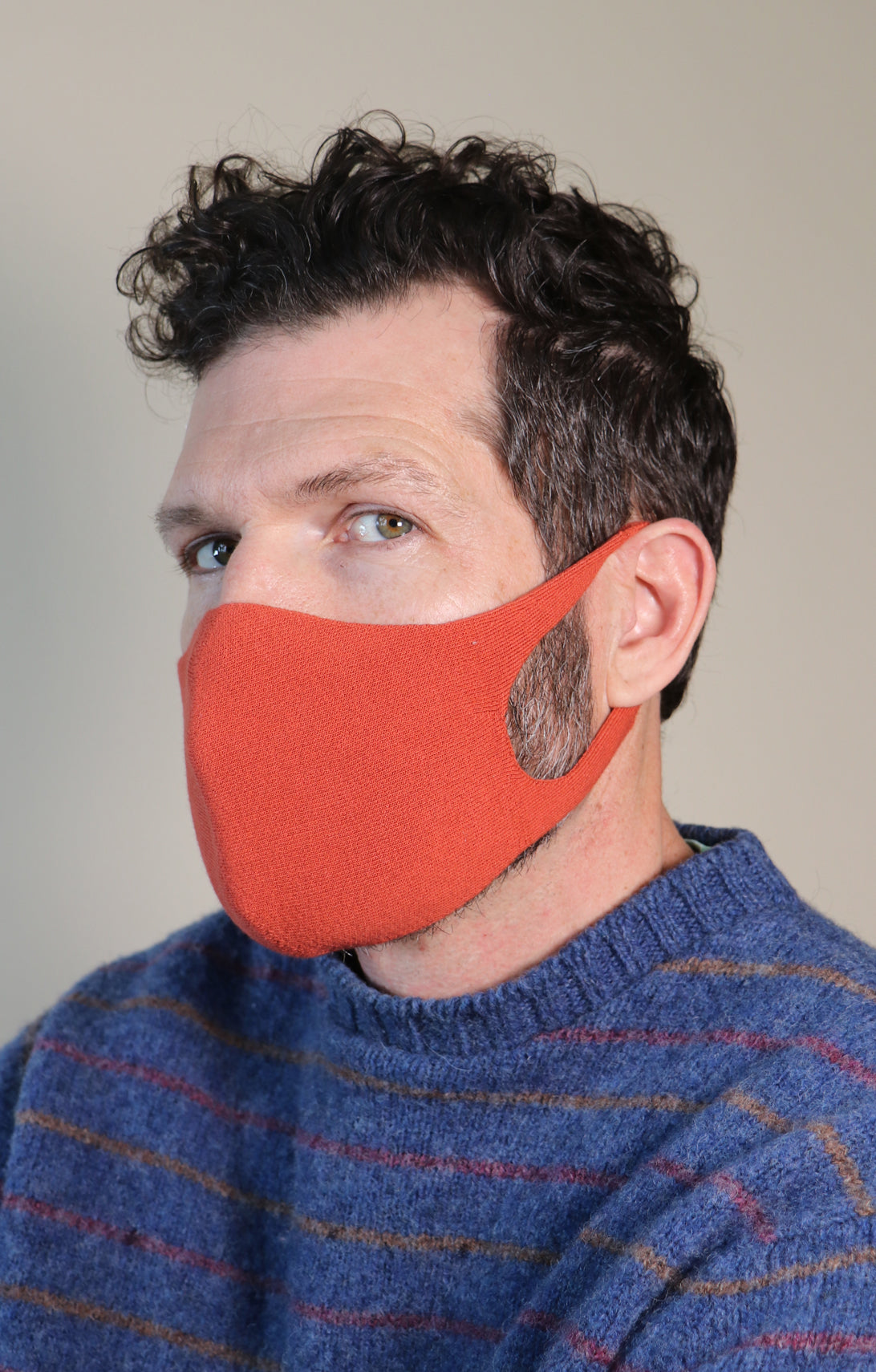 ORGANIC COTTON FACE MASK (Non-Toxic Thread Dyed)