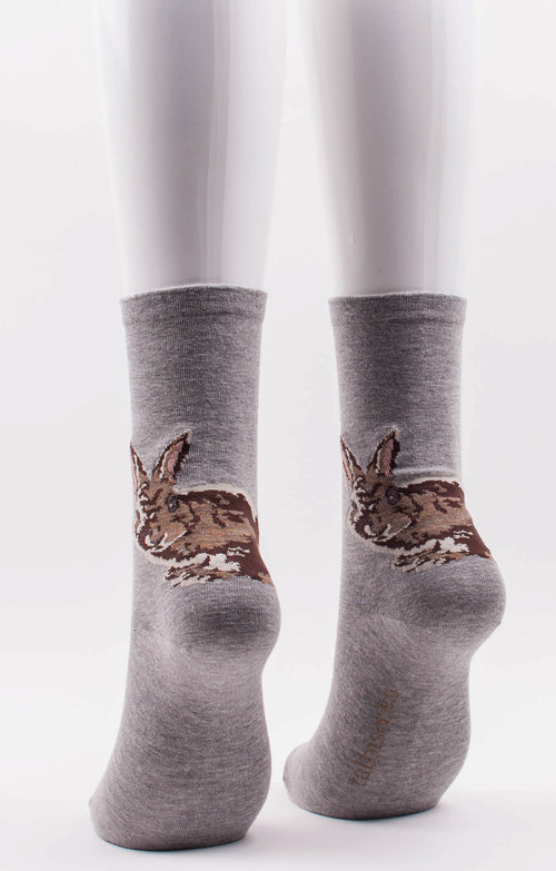 BUNNY CREW SOCKS l Rabbit Socks l Tabbisocks l Made in JAPAN