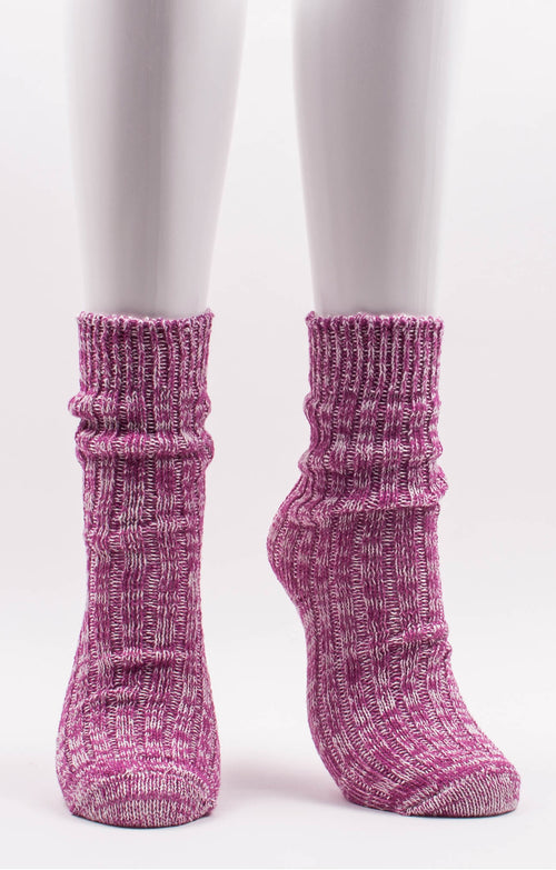 *Retreat* ORGANIC HEMP RIBBED SOCKS l Maarlie Hemp