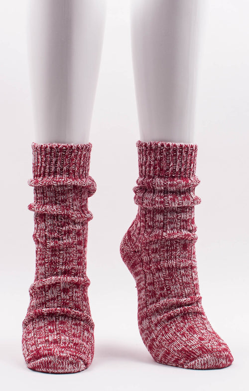 *Retreat* ORGANIC HEMP RIBBED SOCKS