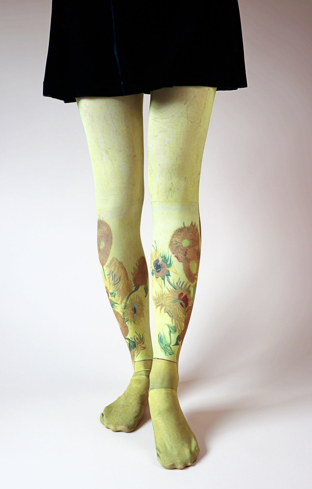 VAN GOGH l SUNFLOWERS (4th London Version) PRINTED TIGHTS
