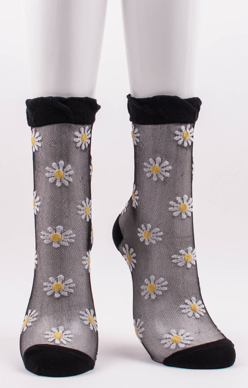 DAISY SHEER SOCKS