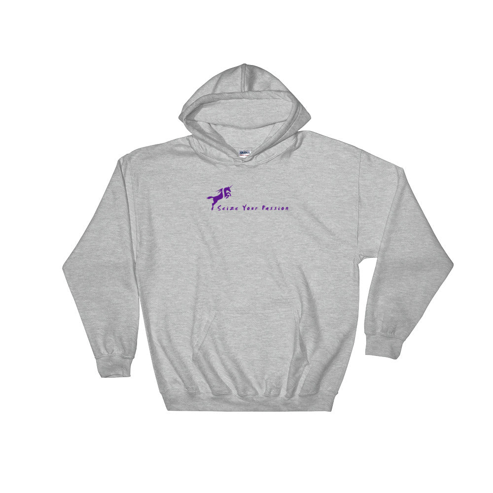 Seize Your Passion Unicorn Hooded Sweatshirt