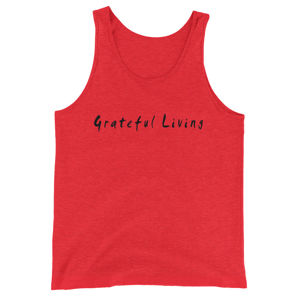 Grateful Living Unisex  Tank Top