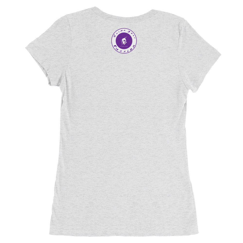 Realize Your Dreams Rounded Women's Short Sleeve T-Shirt