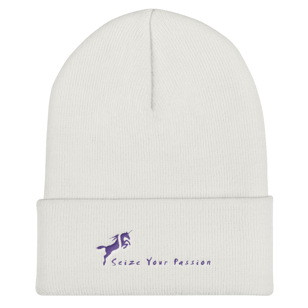Seize Your Passion Cuffed Beanie