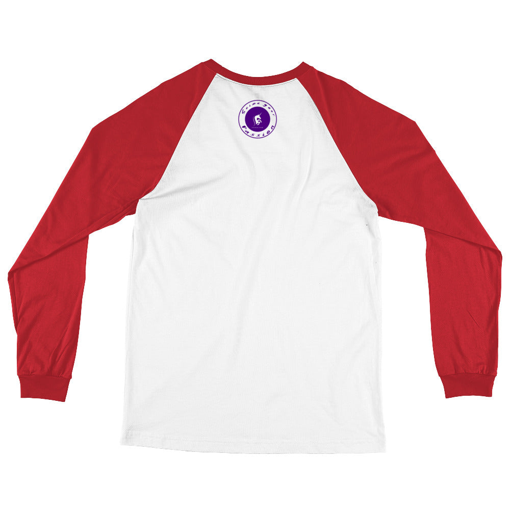 Seize Your Passion Classic Unisex Long Sleeve Baseball T-Shirt