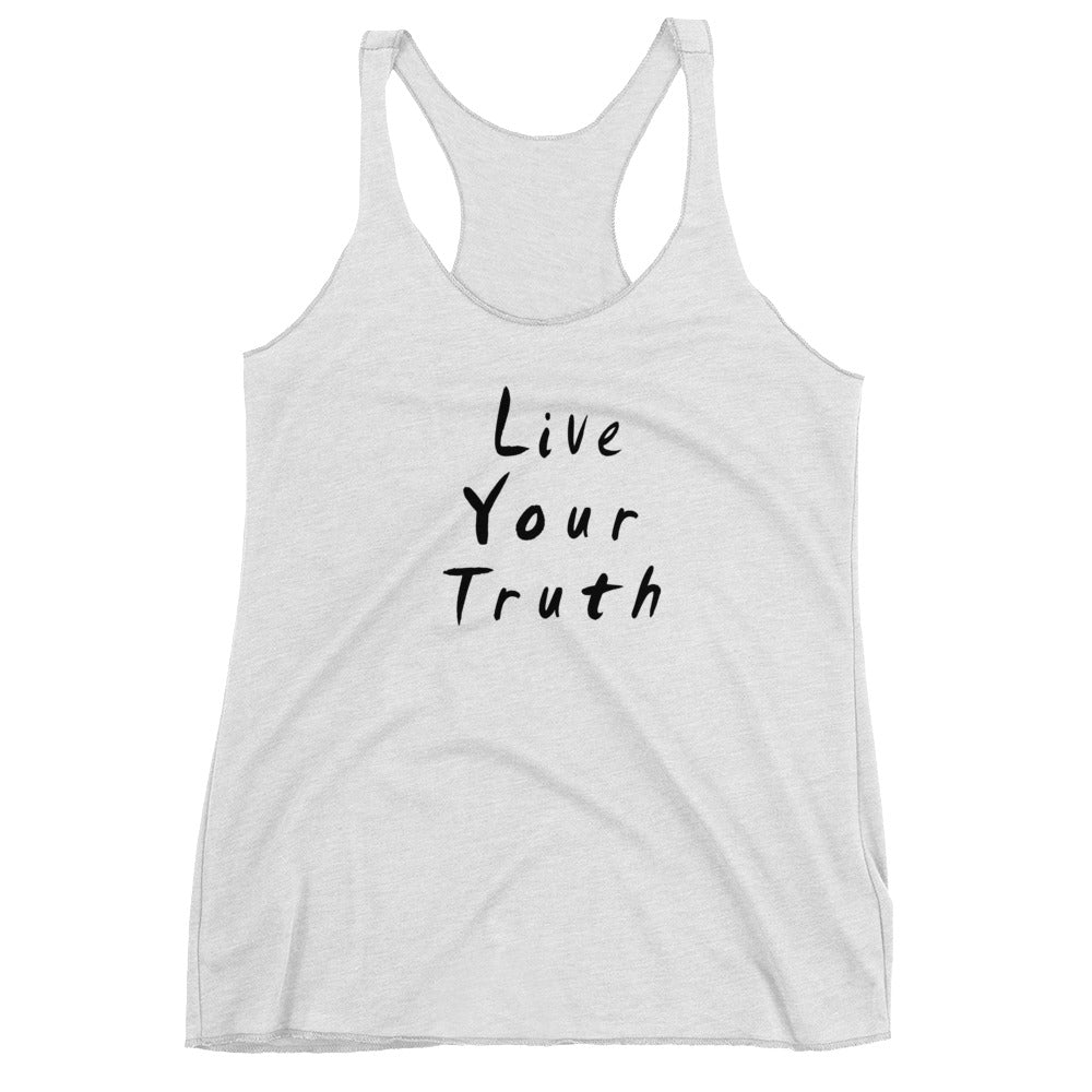 Live Your Truth Women's Racerback Tank