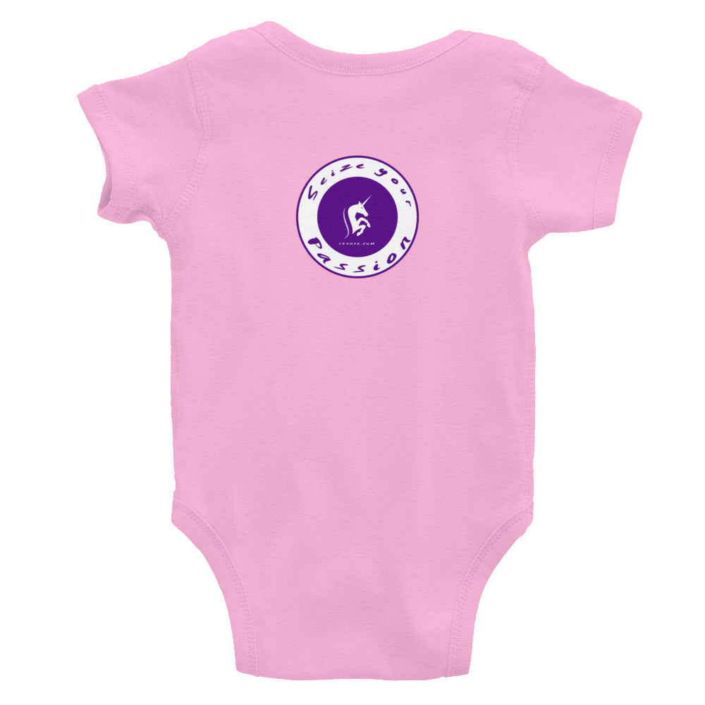 Passion Warrior Infant Bodysuit
