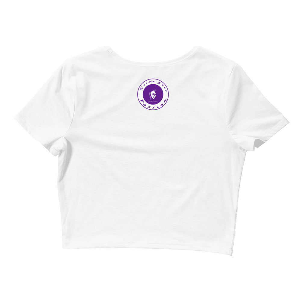 Seize Your Passion Women's Crop Tee