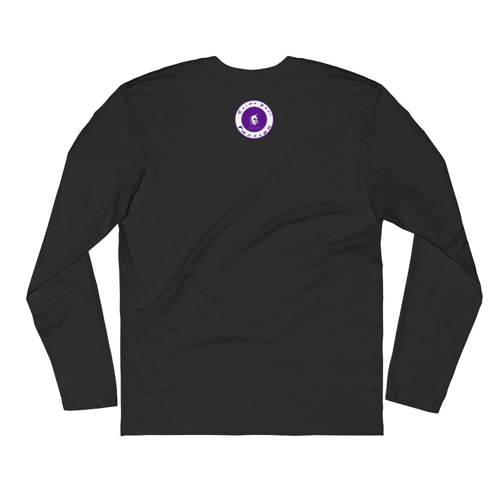 Grateful Living Long Sleeve Fitted Crew
