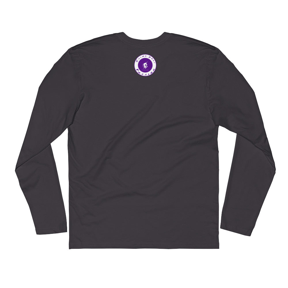 Seize Your Passion Rounded Unisex Long Sleeve Fitted Crew