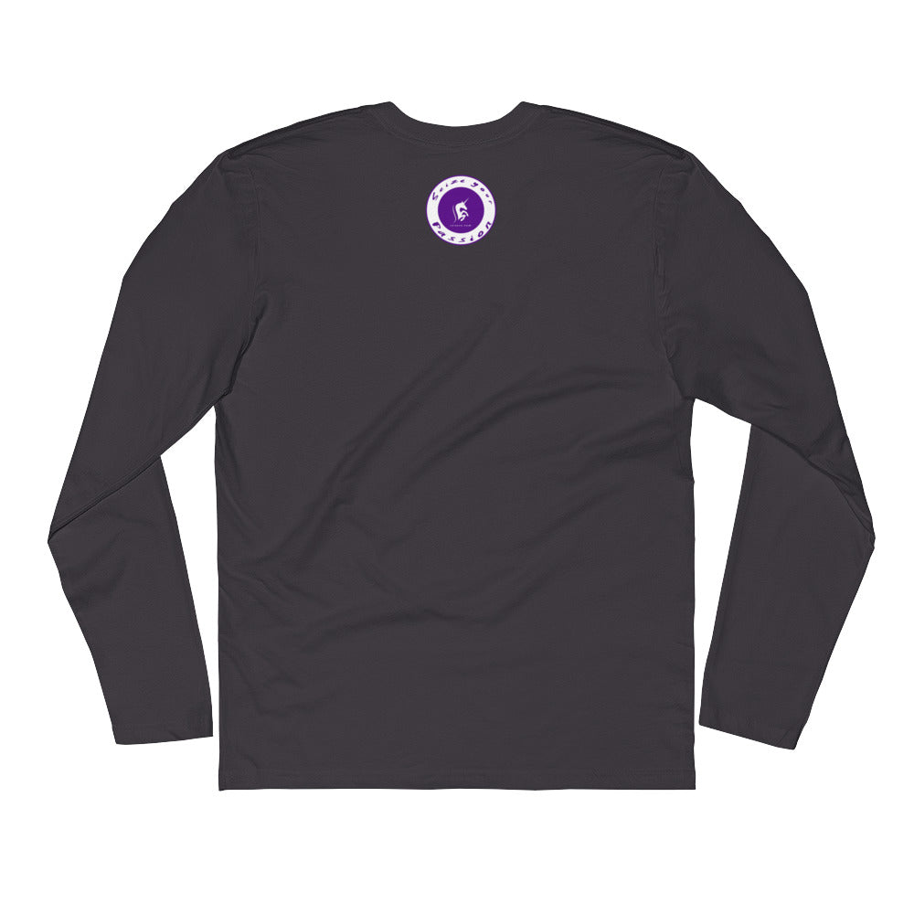 Passion Warrior Long Sleeve Fitted Crew