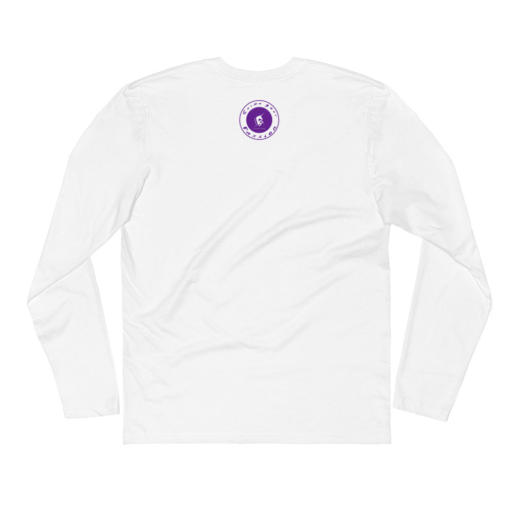 Be Bold Long Sleeve Fitted Crew