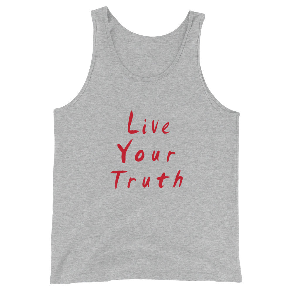 Live Your Truth Unisex  Tank Top