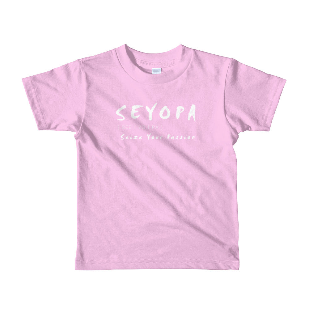SEYOPA Definition Short Sleeve Kids T-Shirt