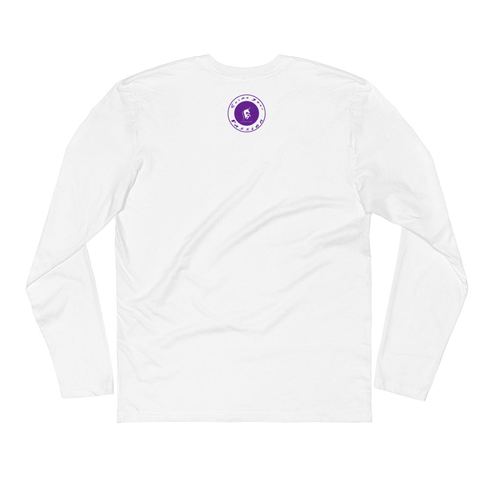 Realize Your Dreams Rounded Unisex Long Sleeve Fitted Crew