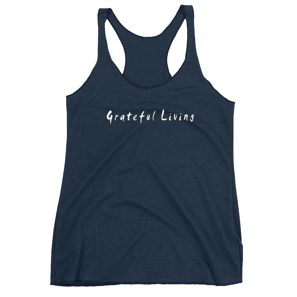 Grateful Living Women's Racerback Tank