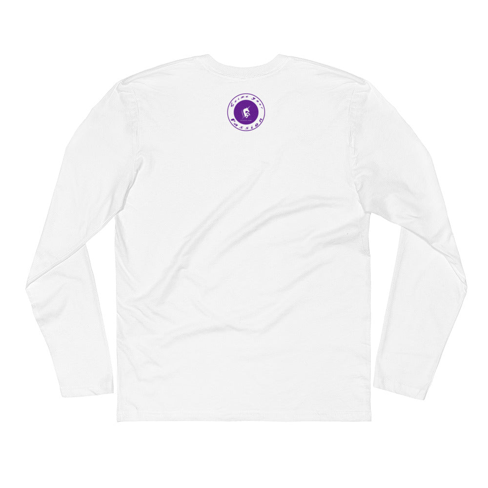 I Choose Passion Long Sleeve Fitted Crew