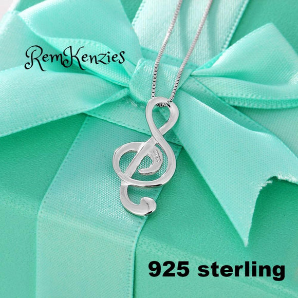 Musical Note Necklaces & Pendants Wedding Necklace