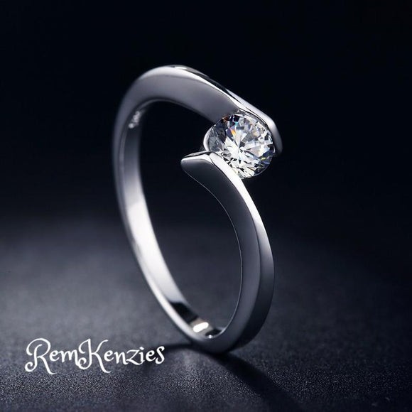 Simple Fashion Cubic Zircon Ring