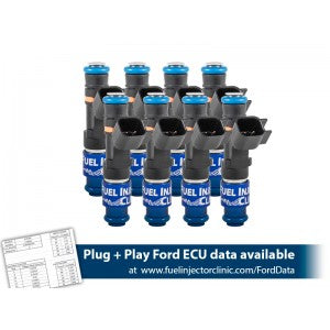 Fuel Injector Clinic Injectors for Mustang GT '11+ (Including GT350 & Boss 302)