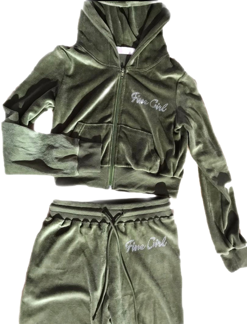 (PREORDER)So 2000's Tracksuit-Olive
