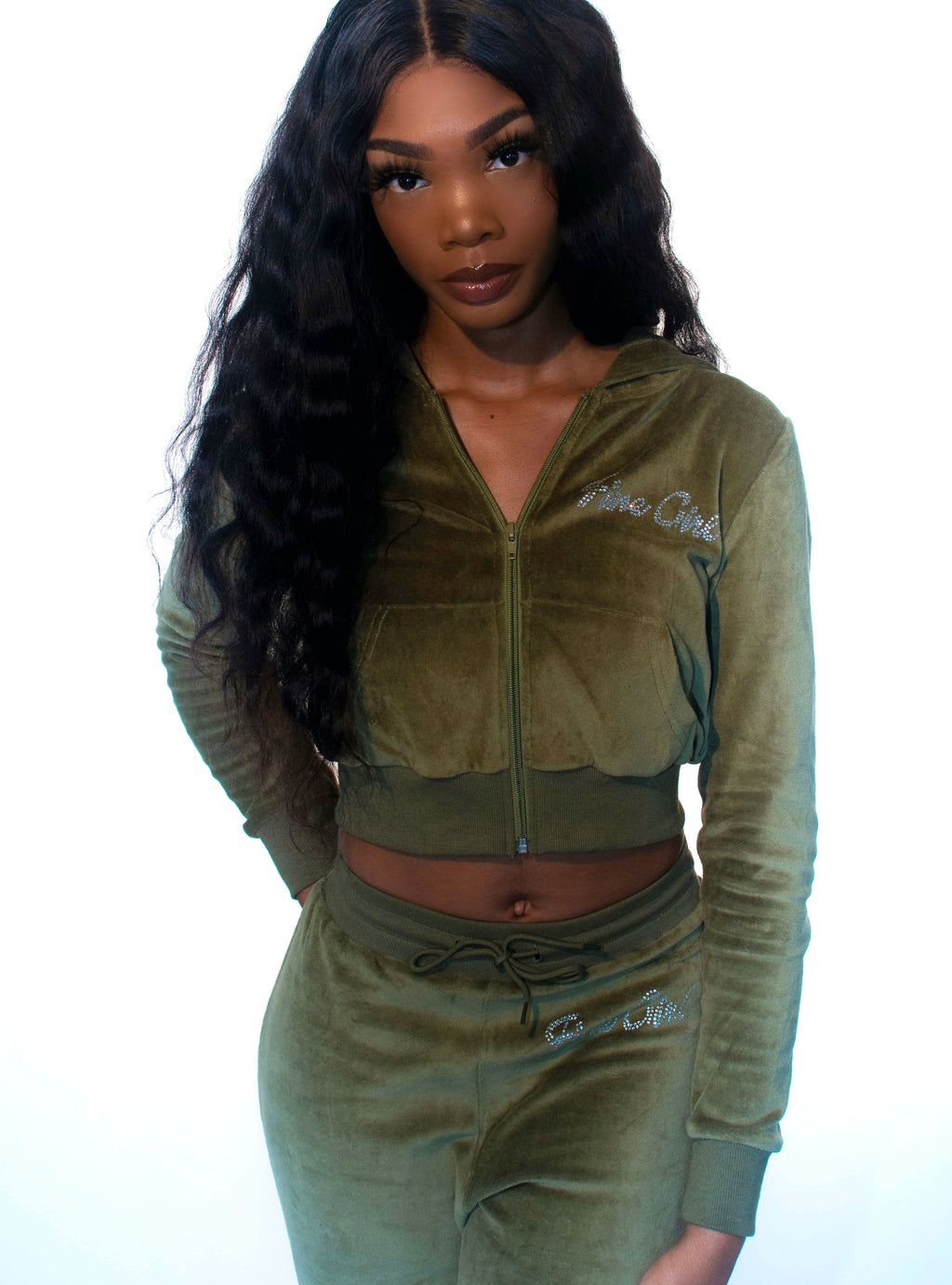So 2000s Tracksuit-Olive