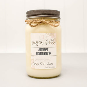 tall mason jar soy candles