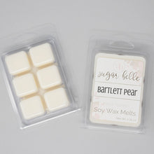 Pear scented wax cubes