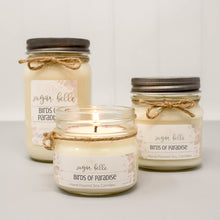 Birds of Paradise Scented Soy Candles | Mason Jars