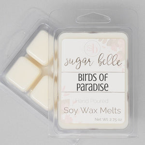 Floral scented wax cubes