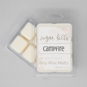 Campfire Scented Soy Wax Melts
