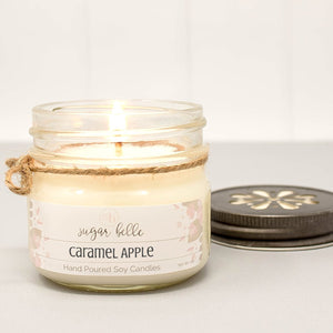 caramel apple soy candles