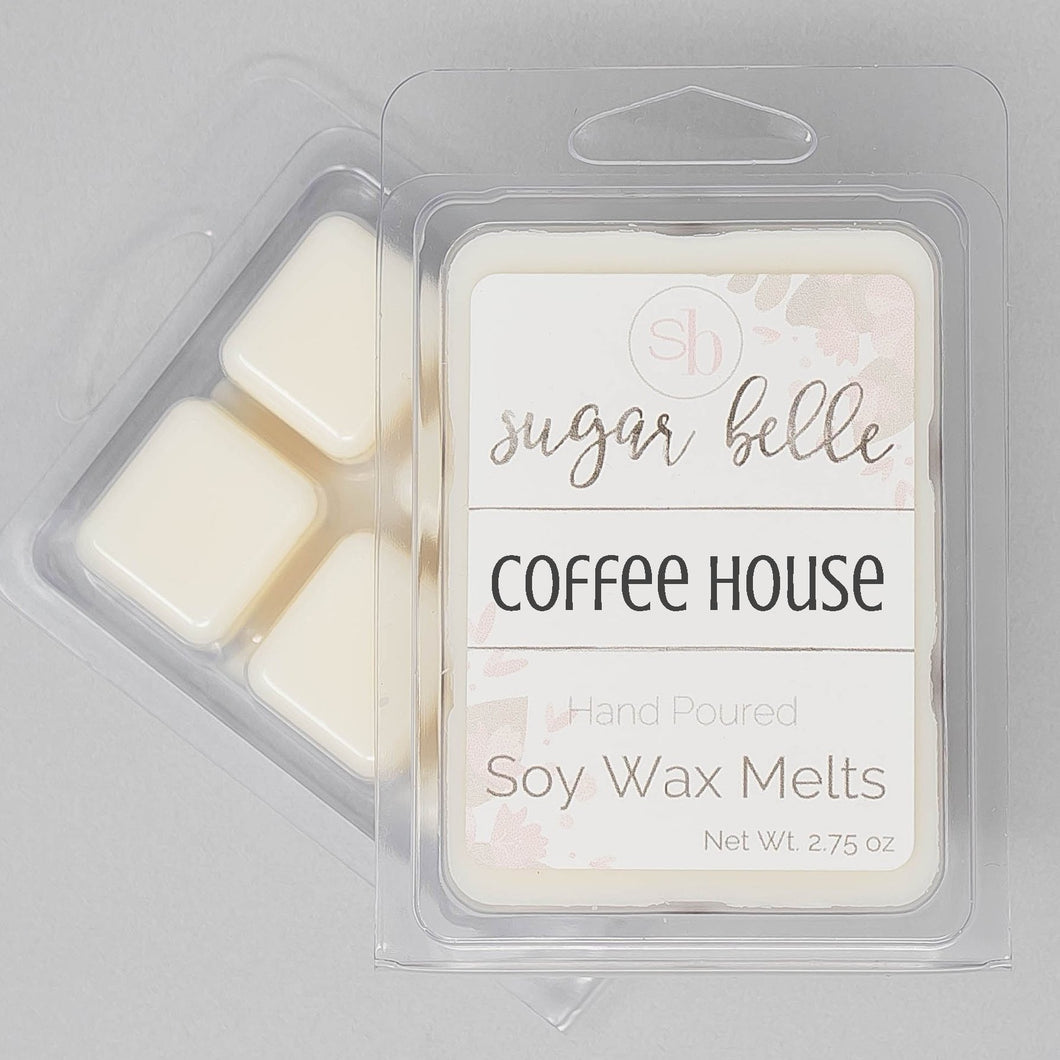coffee scented wax melts